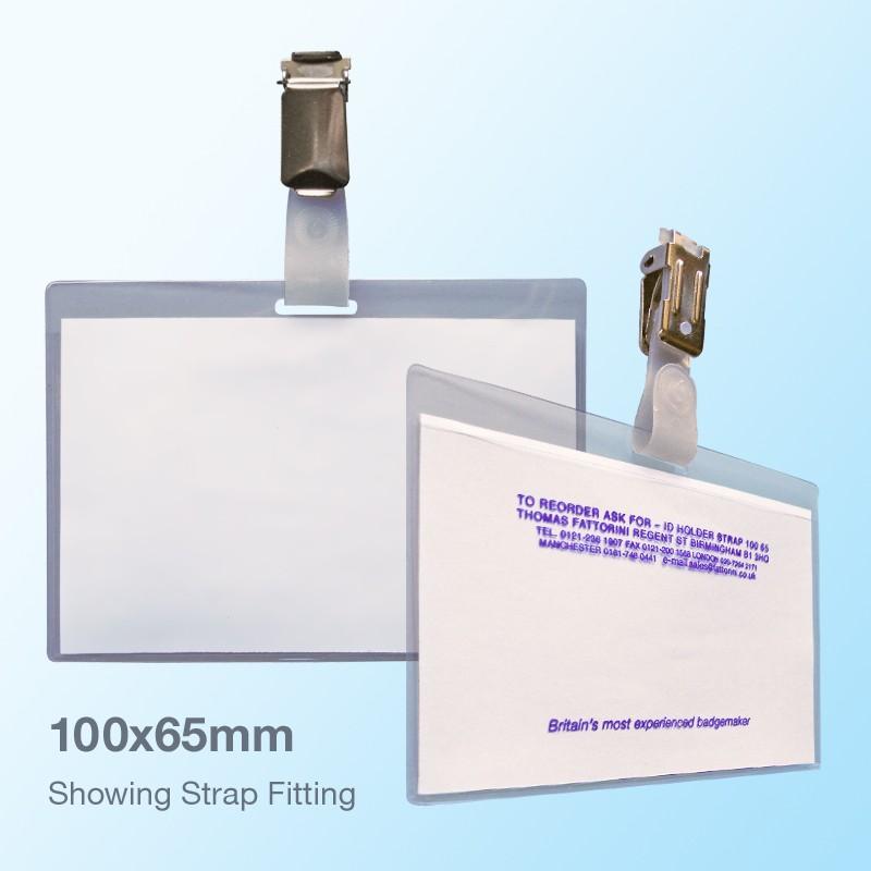 Nameholder STRAP 100x65mm (Box of 100)