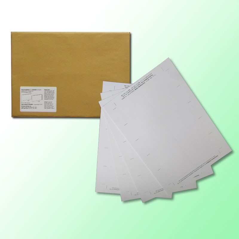 Extra Paper Pack 59x35mm (U50) - White