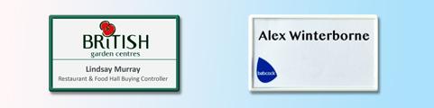 Snap-fit Reusable Badges