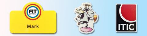Custom Moulded Frame Badges