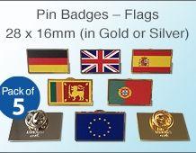 Lapel Badges – Flags