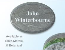 Oval Namebadge 55x39mm (B5) - Themed - 2 lines of personalisation
