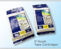 Extra tape cartridge for P-Touch label printer