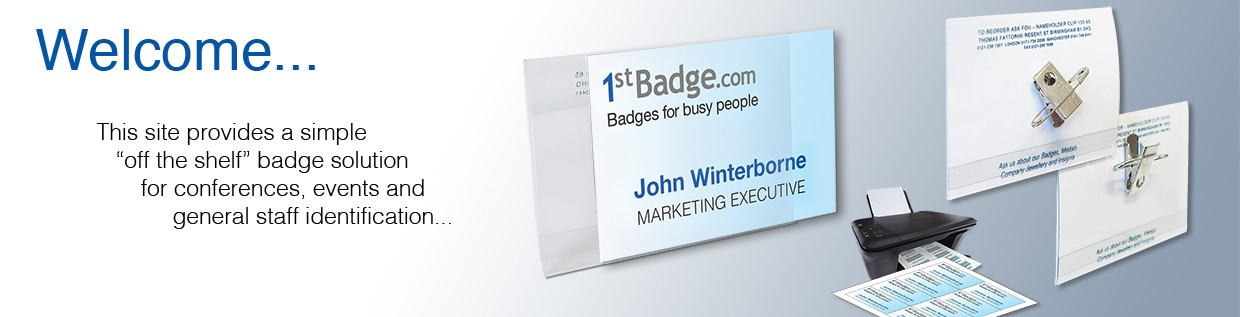 Welcome to 1st-Badge